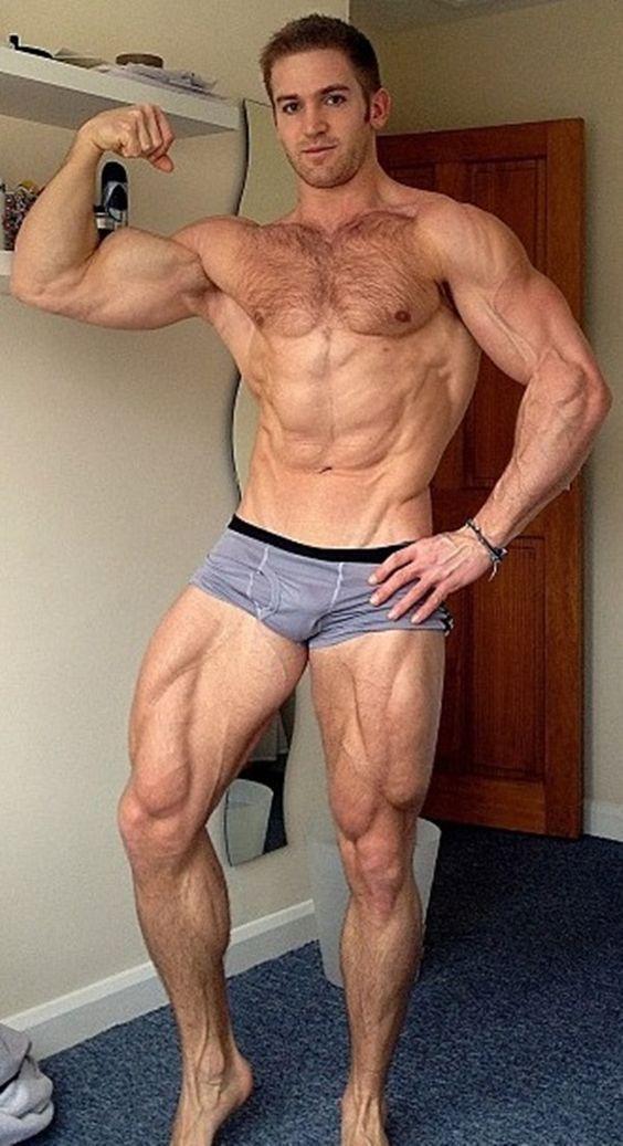 modelo gay peludo