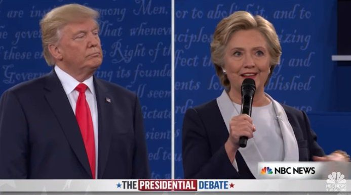 segundo debate presidencial nos eua é o mais visto na internet, Presentation templates