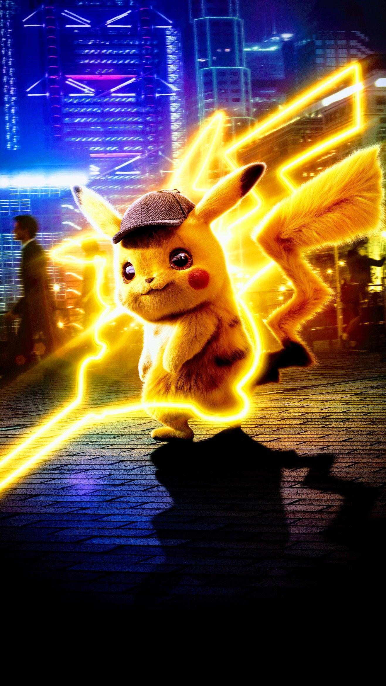 Detective Pikachu Pokemon Pikachu Wallpaper Cool Pokemon Wallpapers Pikachu