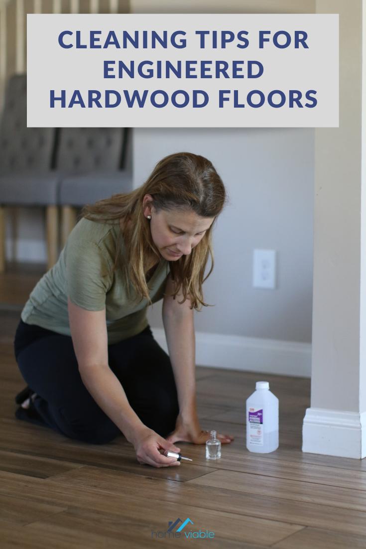 How To Clean Engineered Hardwood Floors Homeviable In 2020 Clean Hardwood Floors Textured Carpet Flooring