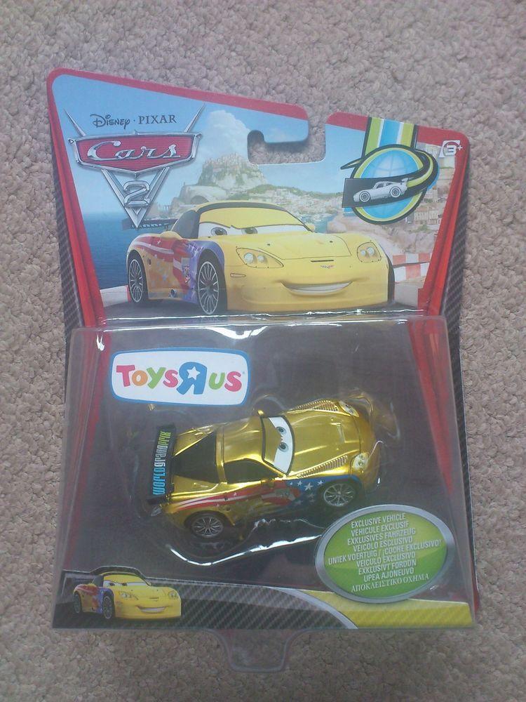 Disney Pixar Cars diecast 155 Metallic Jeff Gorvette