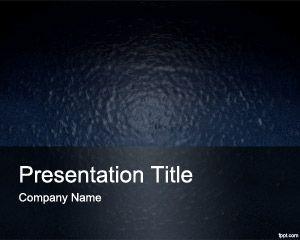 Plantilla PowerPoint con efecto de Plástico PPT Template