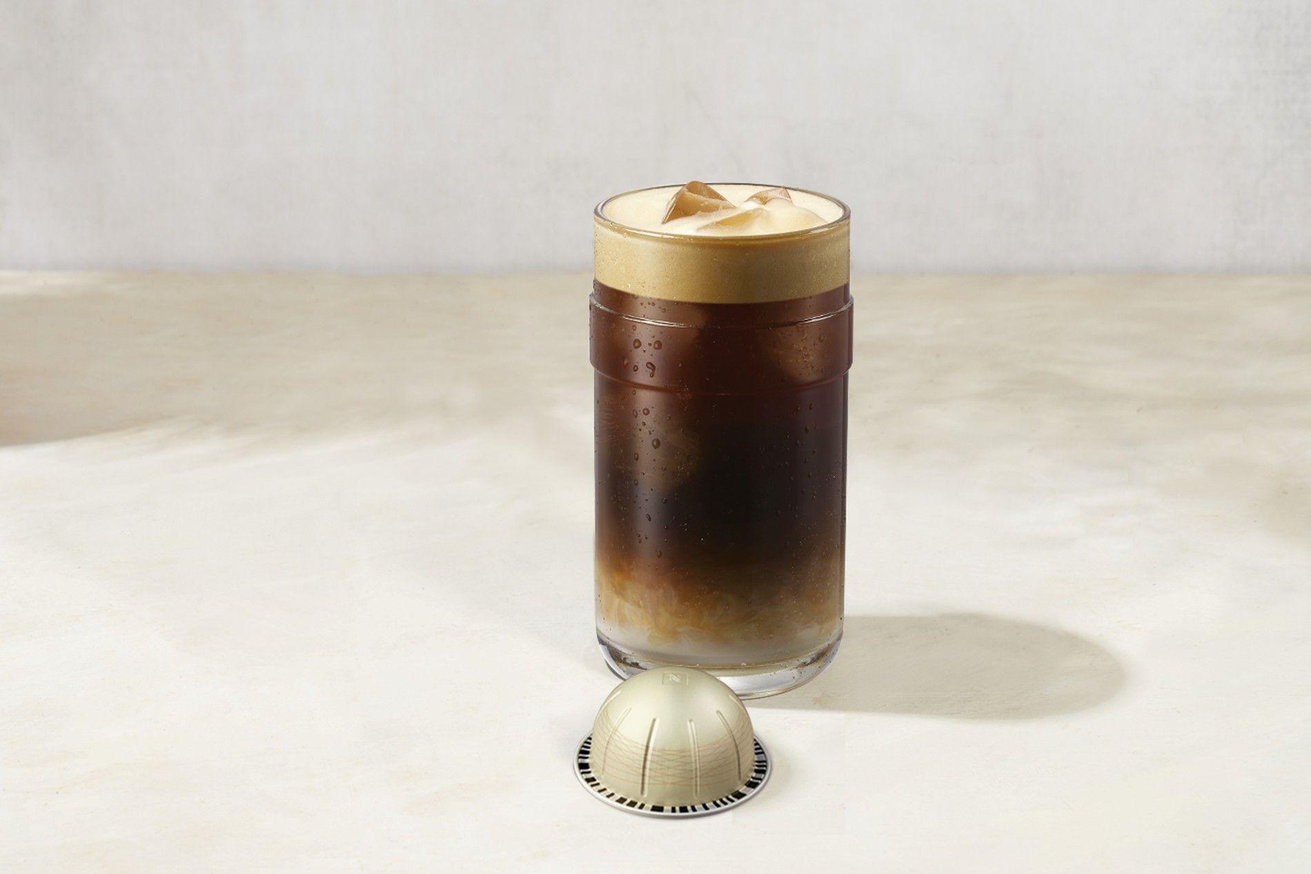Nespresso Vertuo on ice macchiato *Barista device may