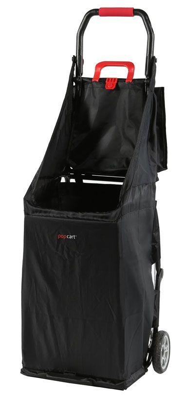 4156bf8d387f popcart | folding shopping cart | open | portable | Folding shopping ...