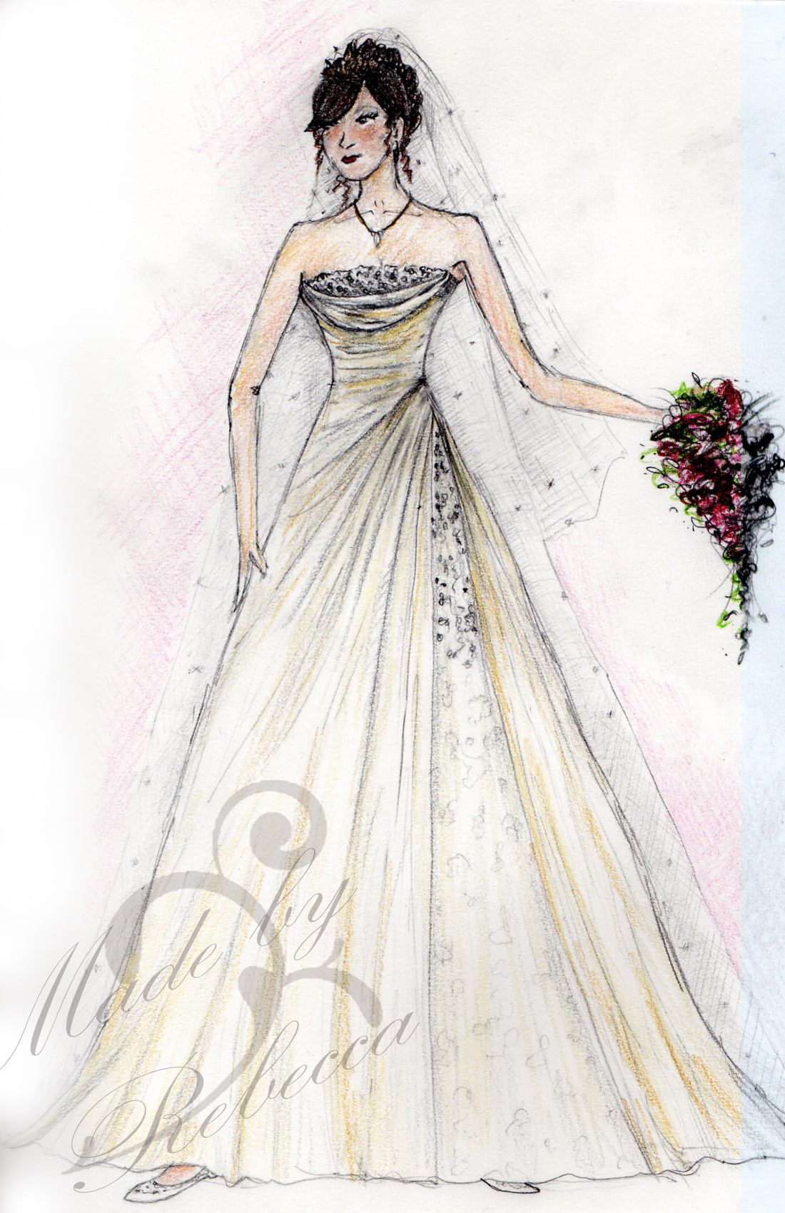 I want to make a lot of dresses..I also wanted to be a designer ...