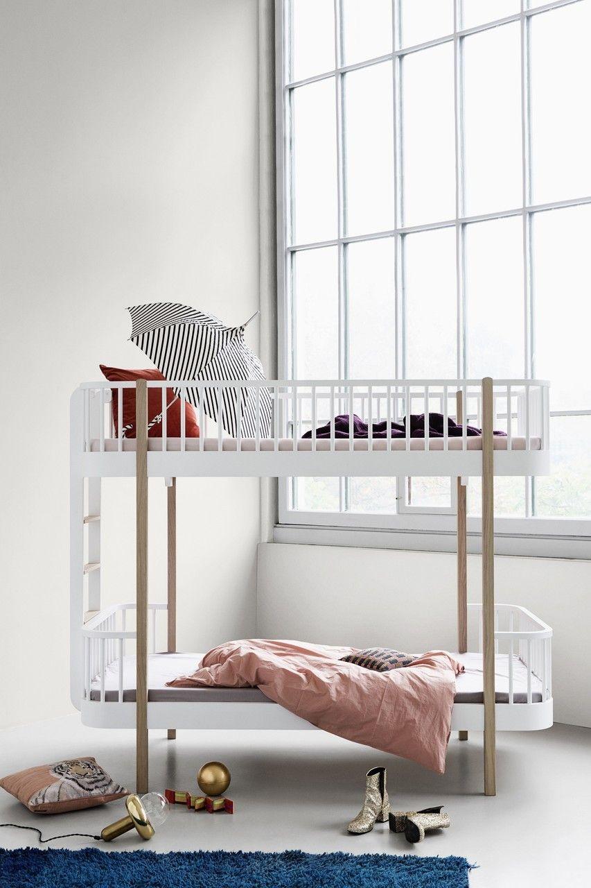 Mit Dem Coolen Wood Etagenbett Von Oliver Furniture Bleibt Deinen Beiden  Mäusen Im Kinderzimmer Auf Jeden
