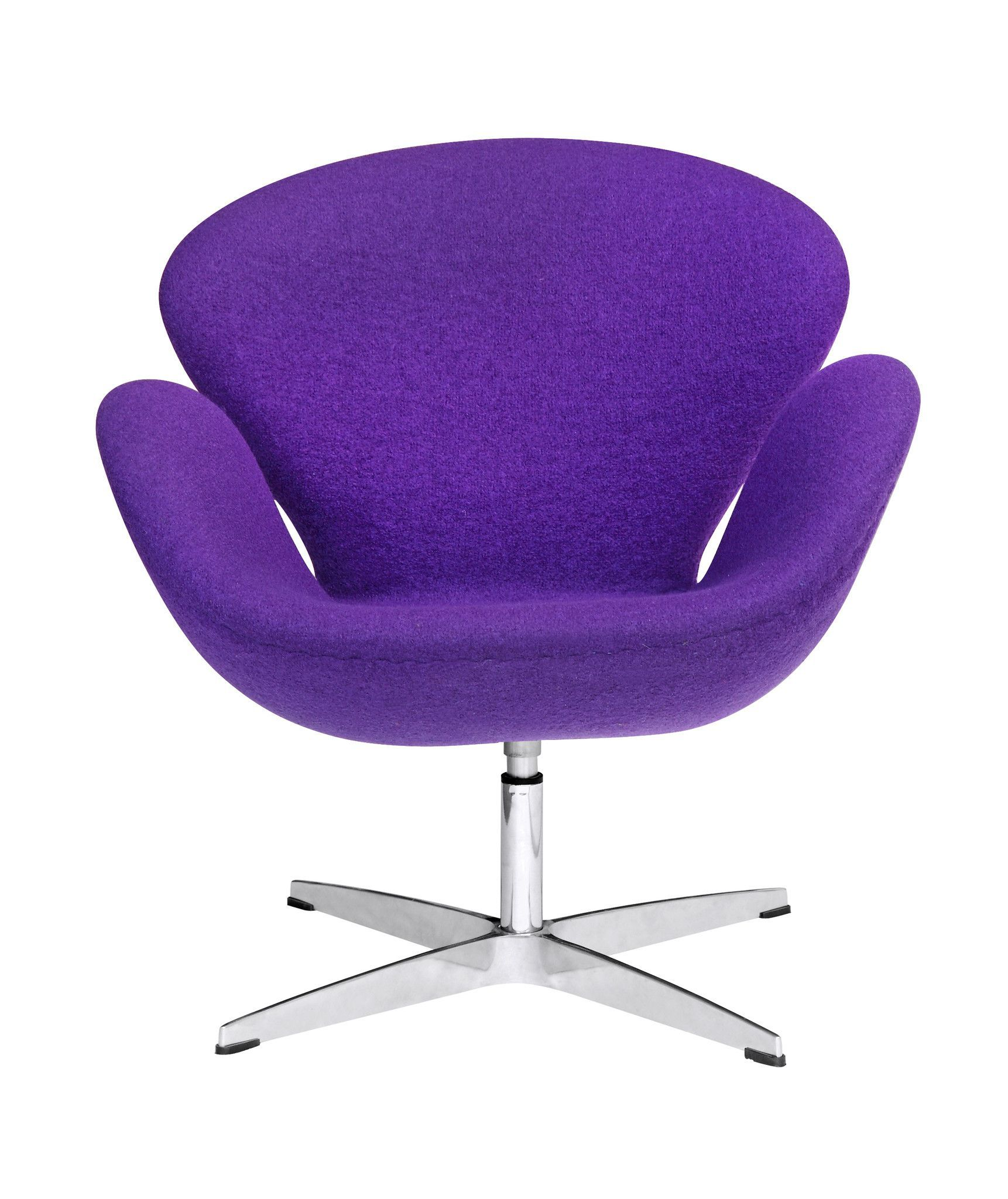 Arne Jacobsen Swan Style Chair Fabric, Purple