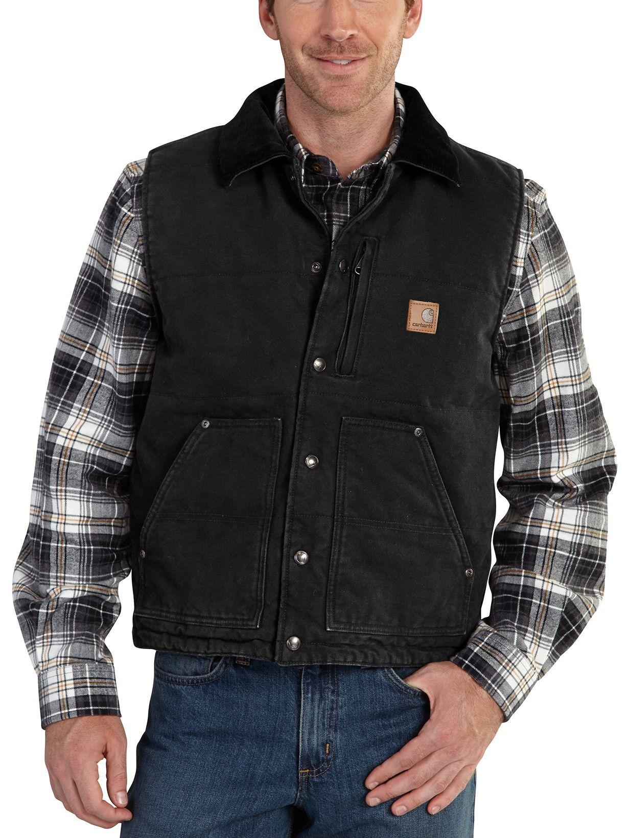 1ca4dbcc Carhartt Mens Wexford Camo Shirt Jacket