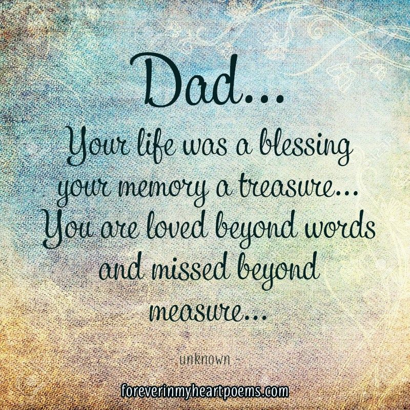 Latest Quote About Dad In Heaven