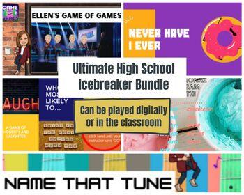Ultimate High School Digital Zoom Icebreaker Game Bundle