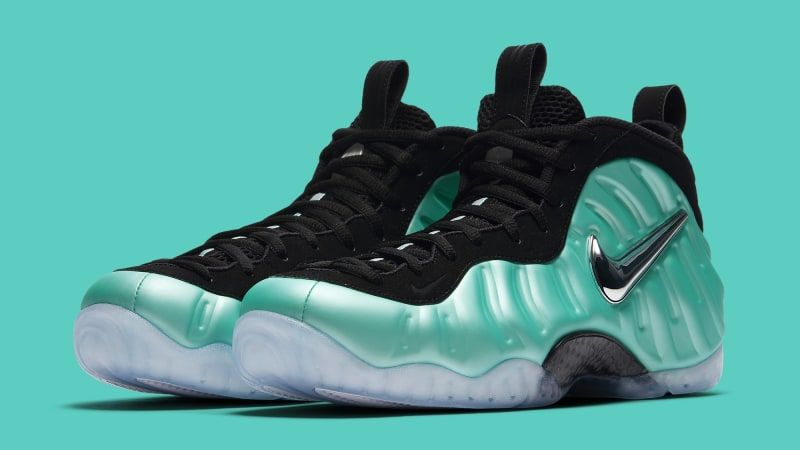 low priced d0d07 831c9 Island Green Nike Air Foamposite Pro 624041-303 | Sole ...