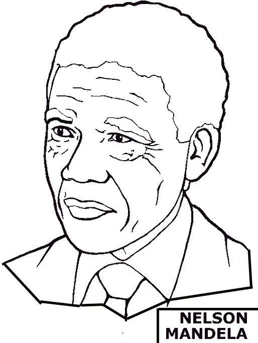 every month is black history month black history coloring pages condoleeza rice colin powell and nelson mandela