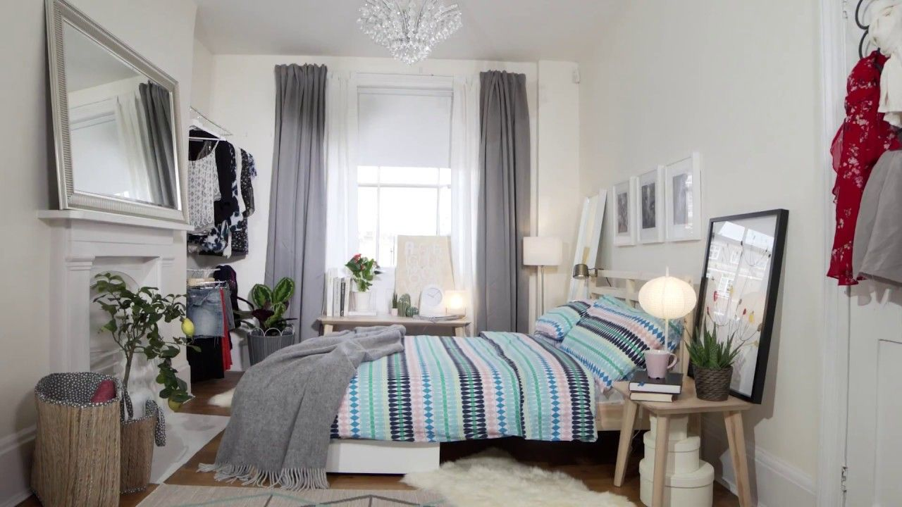 IKEA Bedroom Tips Storage Space for Small Rooms - YouTube Modern
