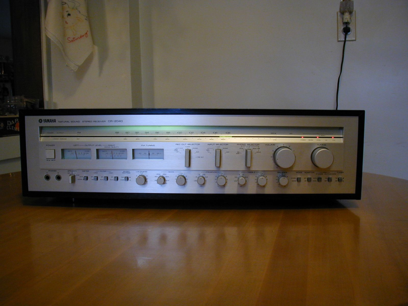 Yamaha CR-2040 Stereo Receiver | Other Vintage & Newer