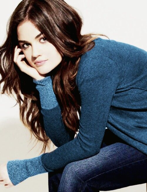 Lucy Hale my favorite pick for Ana
