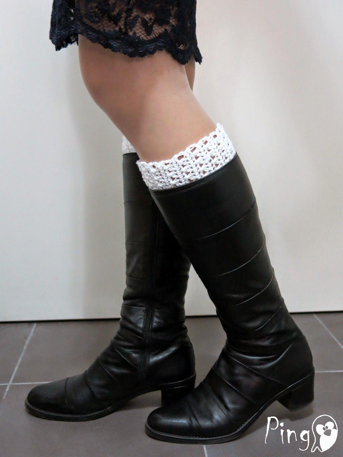 Boot cuffs by Pingo | Crochet | Pinterest