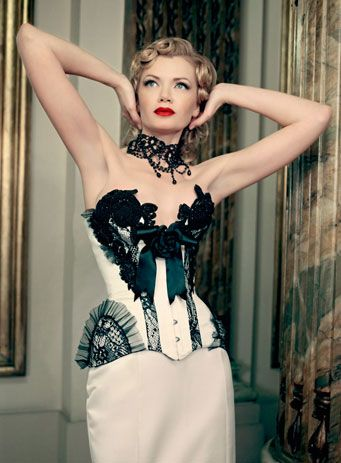 Maya Hansen. Bridal. The Black Touch Bridal Gown #2