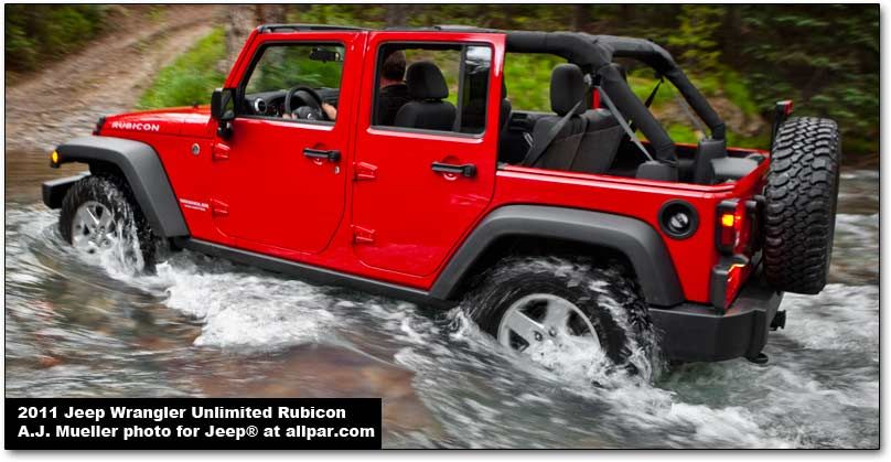 The iconic 20112015 Jeep Wrangler and Wrangler Unlimited