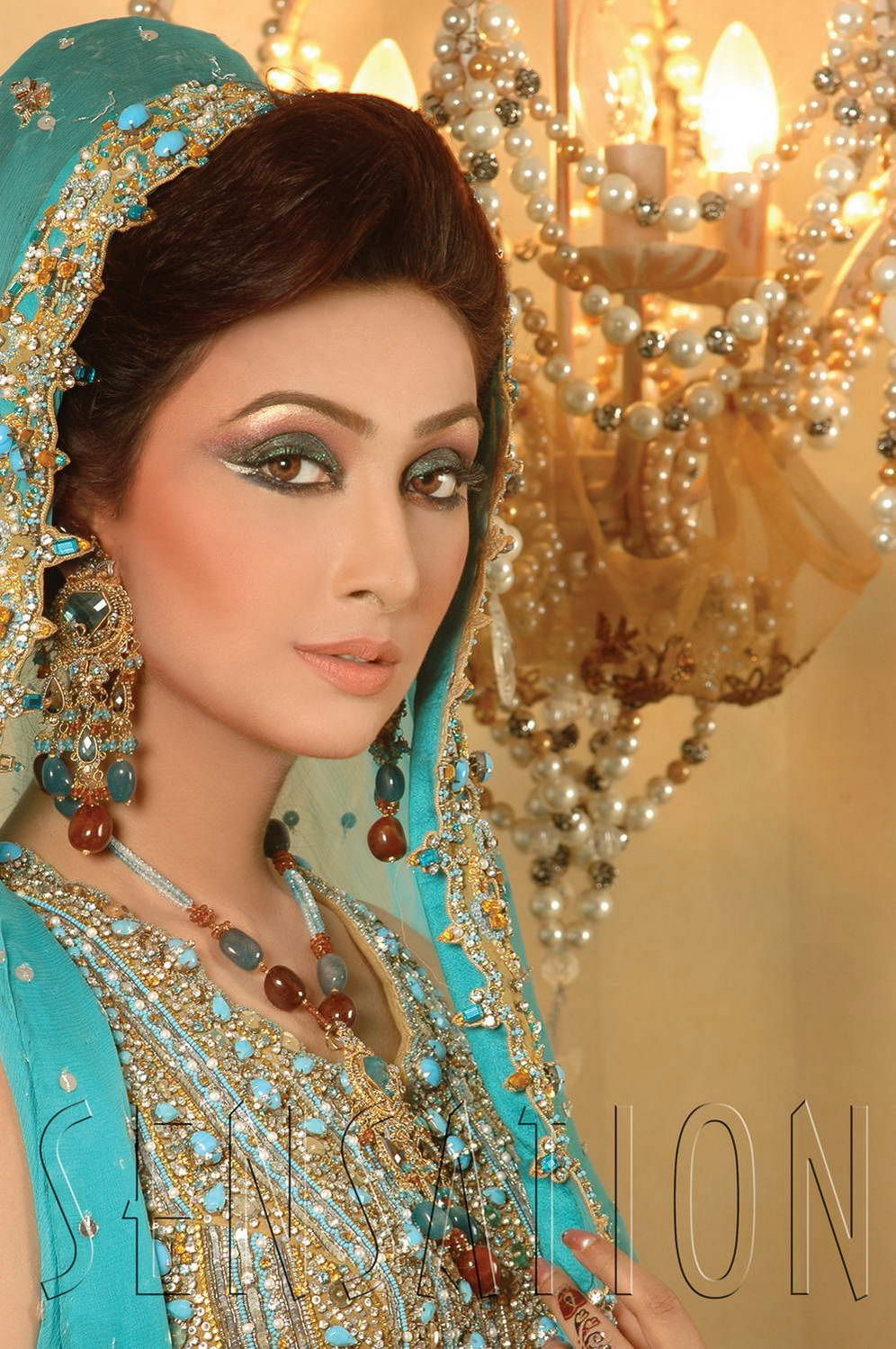 Ayyan ali bridal jeweller photo shoot design 2013 for women - Pakistani Bridal