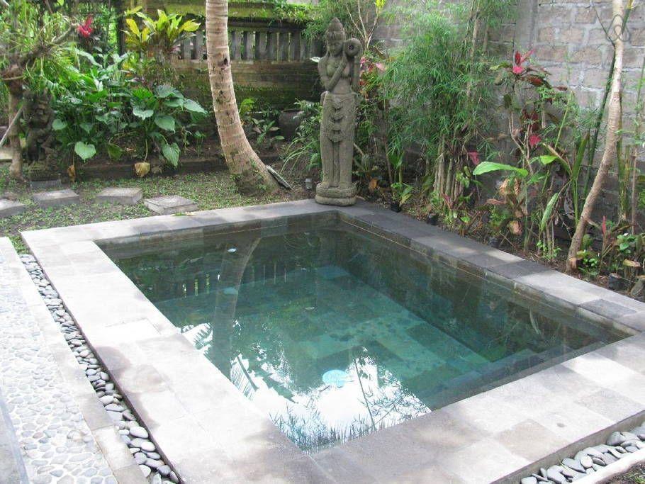 Regardez ce logement incroyable sur airbnb private tranquil pool villa maisons for rent - Airbnb piscine interieure ...