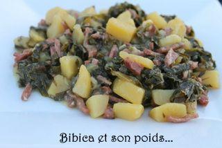 Potée de chou portugais au bacon et pommes de terre #poteechouvert