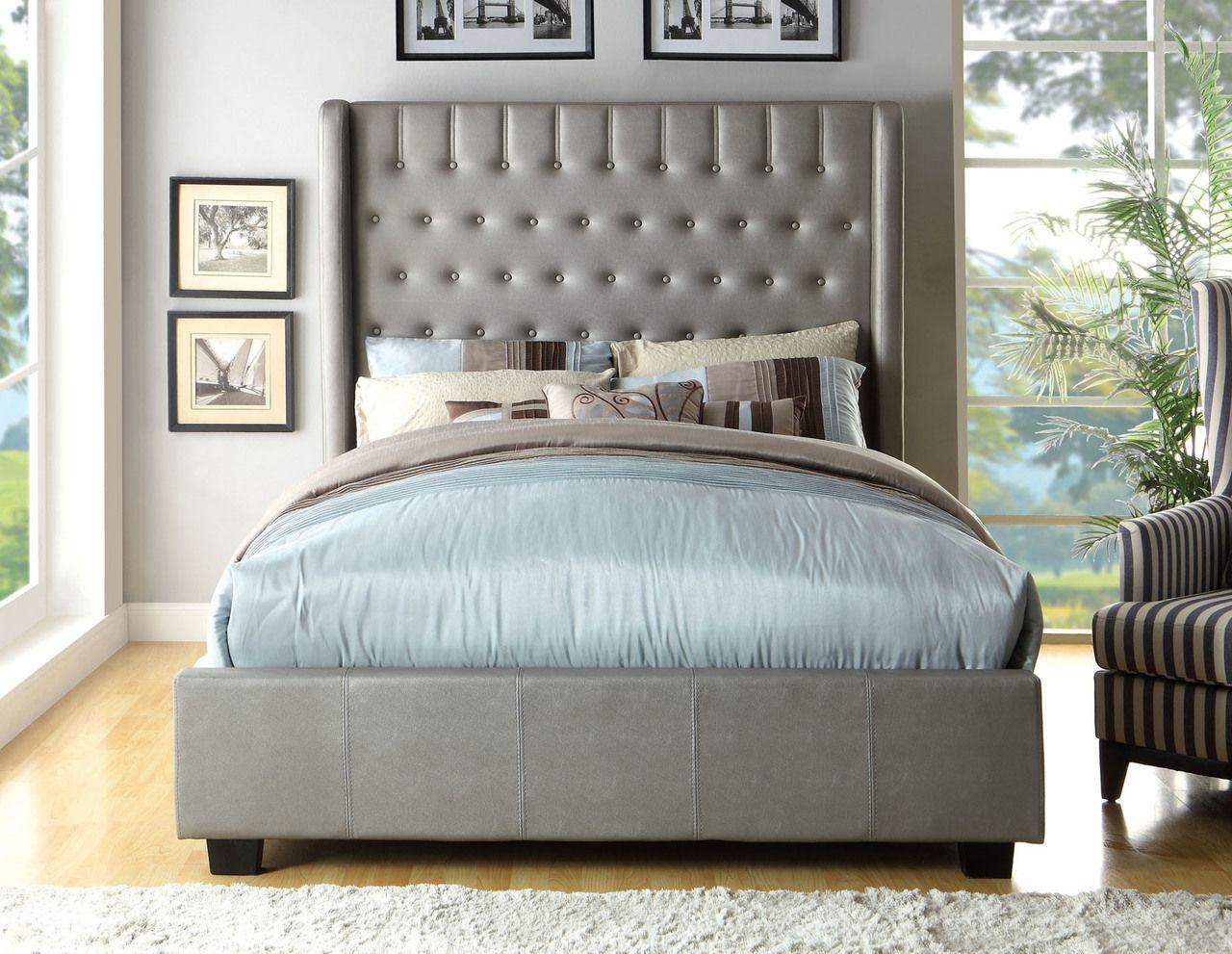 Mira California King Bed Collection CM7055BL-CK | Camas, América y ...