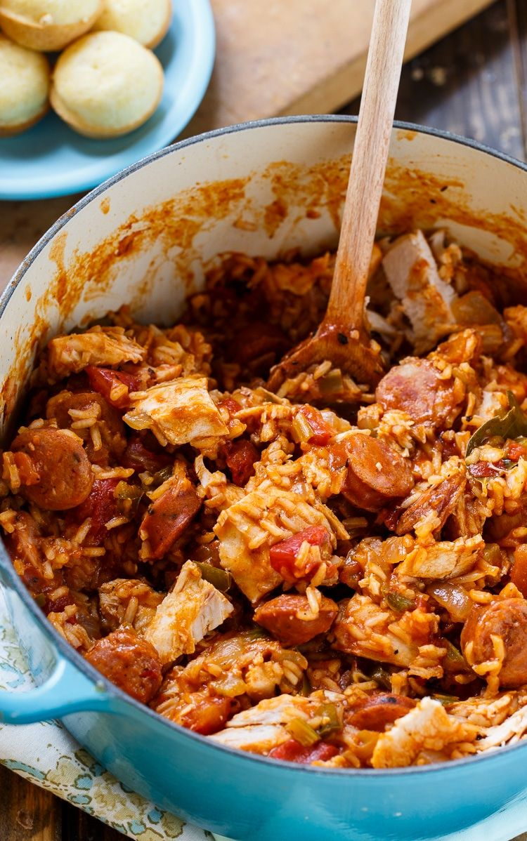 Photo of Leftover Turkey Jambalaya