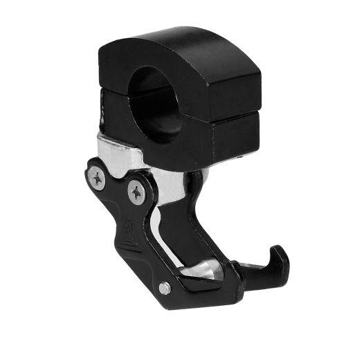 7/8 22mm CNC Aluminum Motorcycle Handlebar Luggage Helmet Bag Hanger Hook Universal Holder