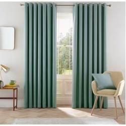 Photo of Eden curtain set with eyelets, opaqueWayfair.de
