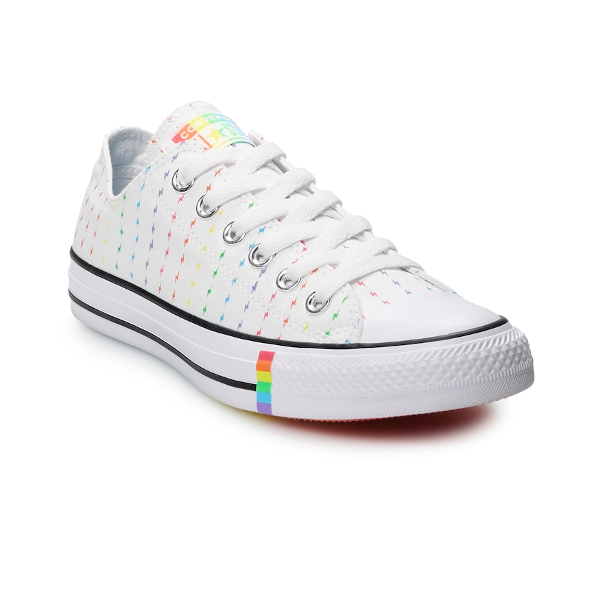 Adult Converse Chuck Taylor All Star Rainbow Bolt Low Top