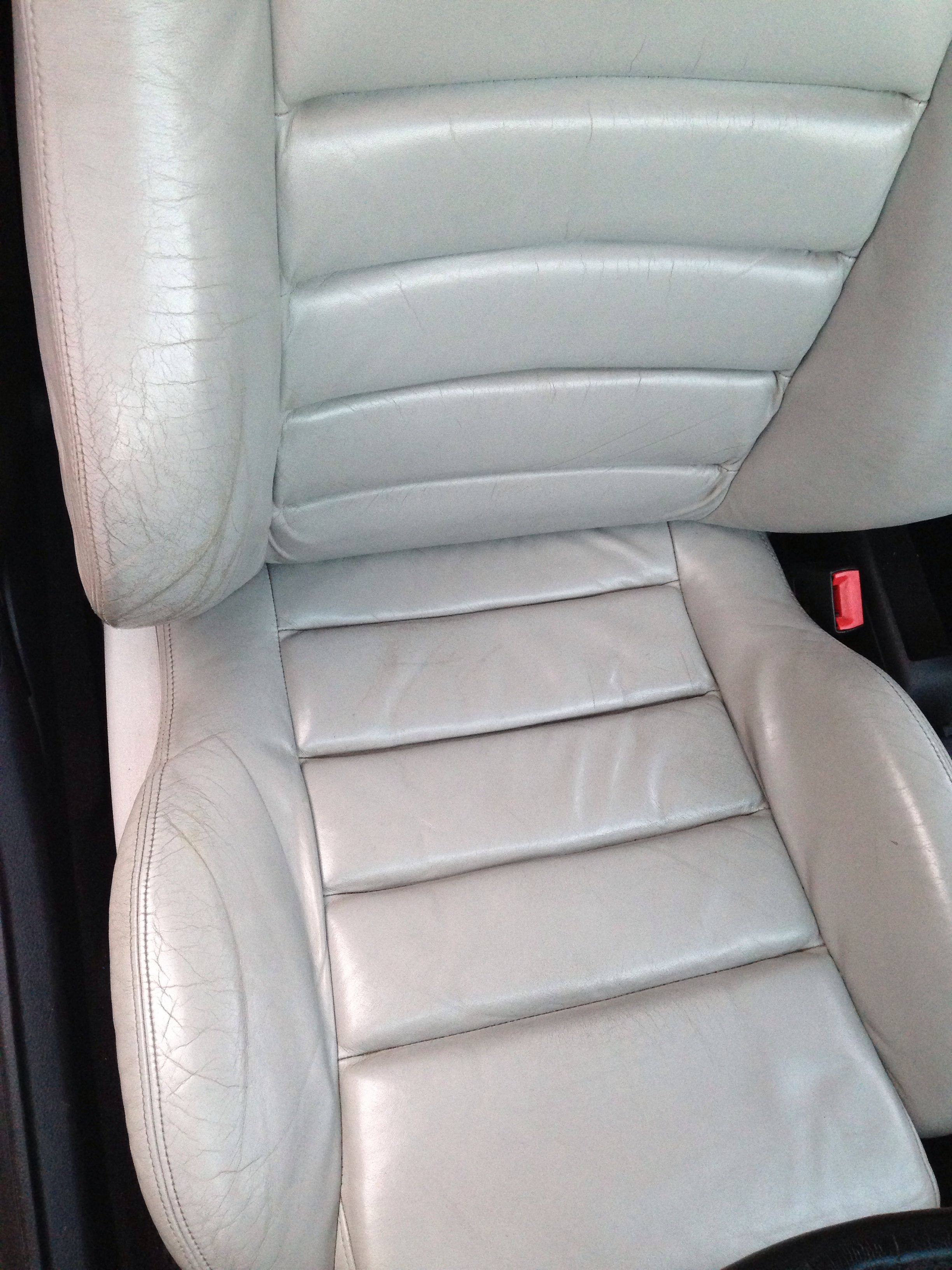 Superb Audi B5 S4 Leather Seat Before Restoration Leather Car Spiritservingveterans Wood Chair Design Ideas Spiritservingveteransorg