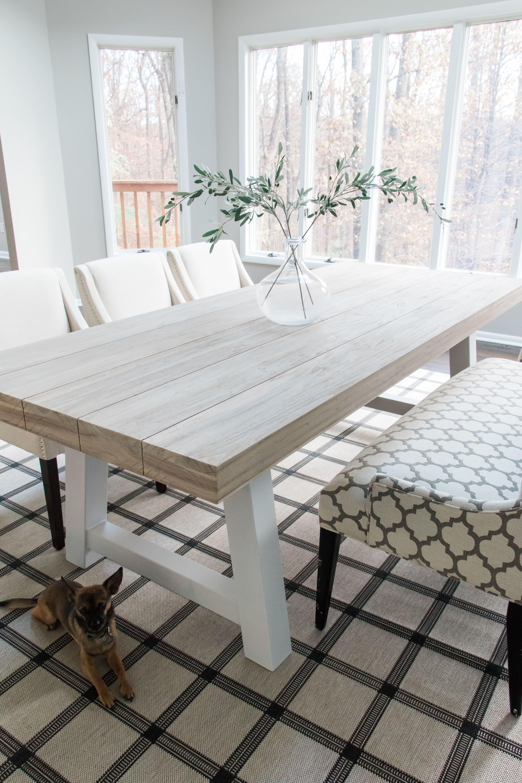 Tavola Driftwood Gray Dining Table For 8 Coastal Dining Room Table White Dining Room Table Wood Dining Room Table