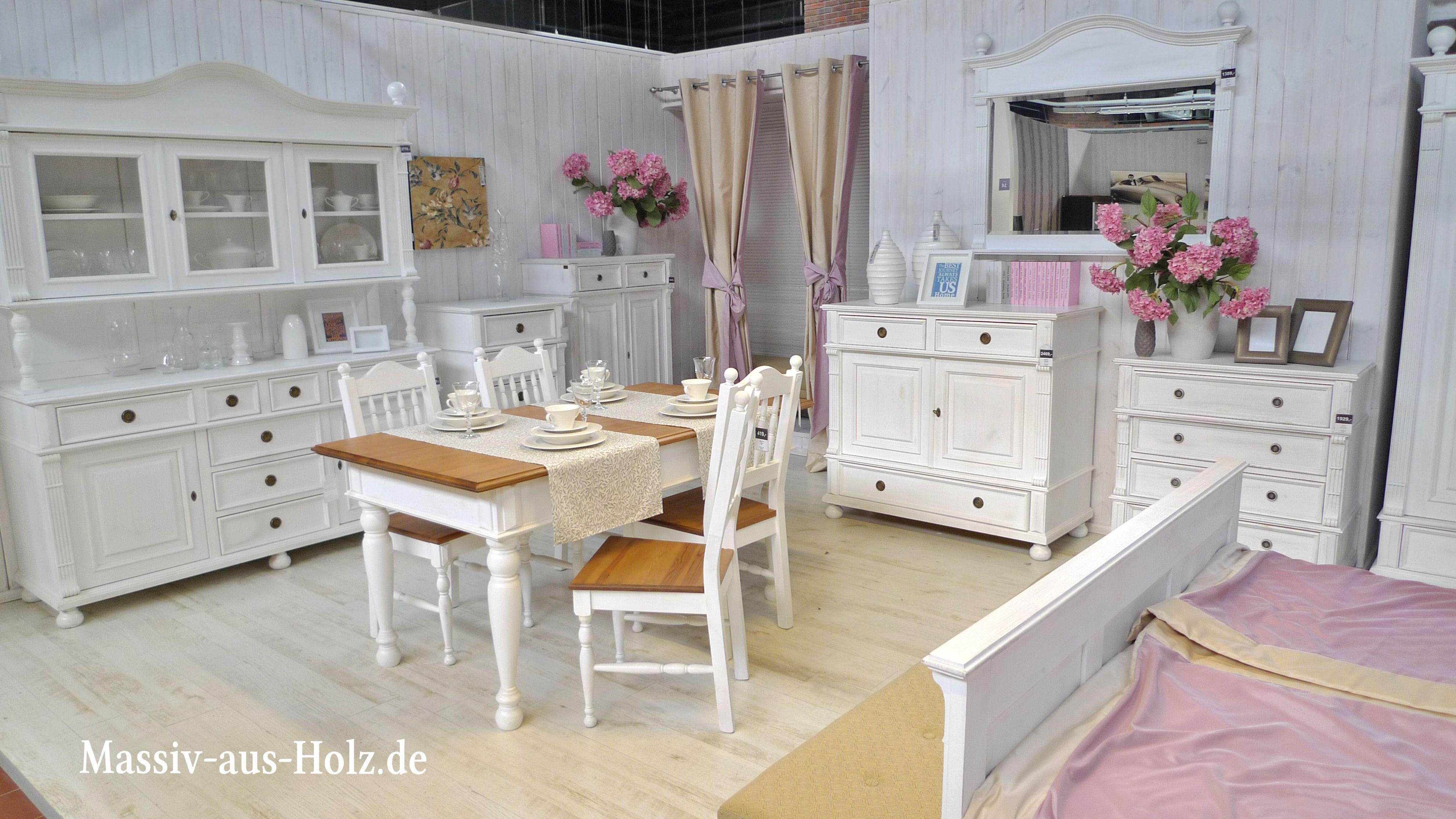 Bemerkenswert Landhausmöbel Weiss Das Beste Von Wohnen Mit Charme Weißer Möbel - Genau