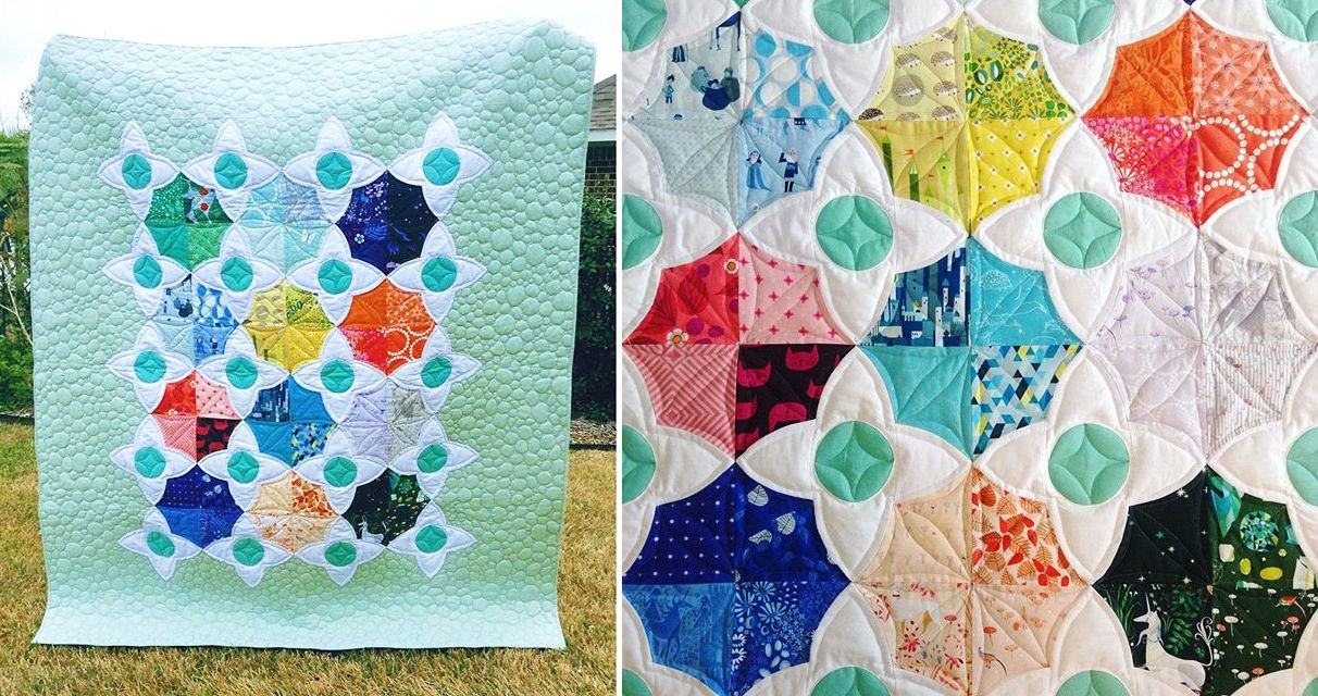 Sew Scatterbrained: The Meadow Quilt