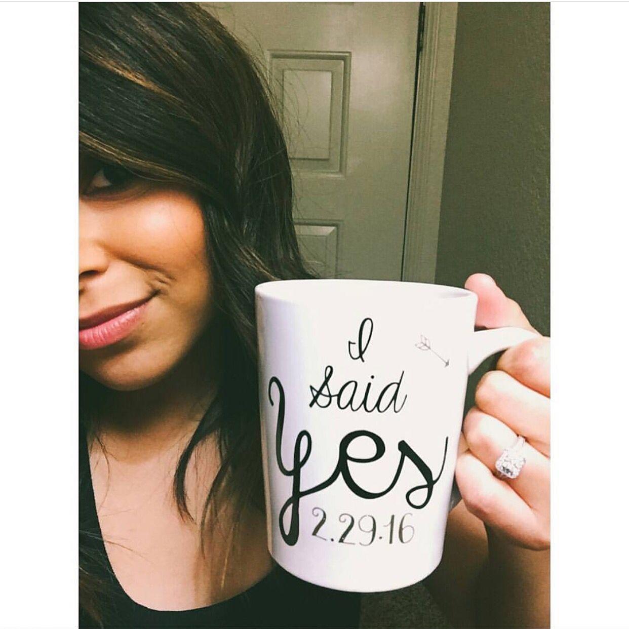 I Said Yes Mug Wedding Planning