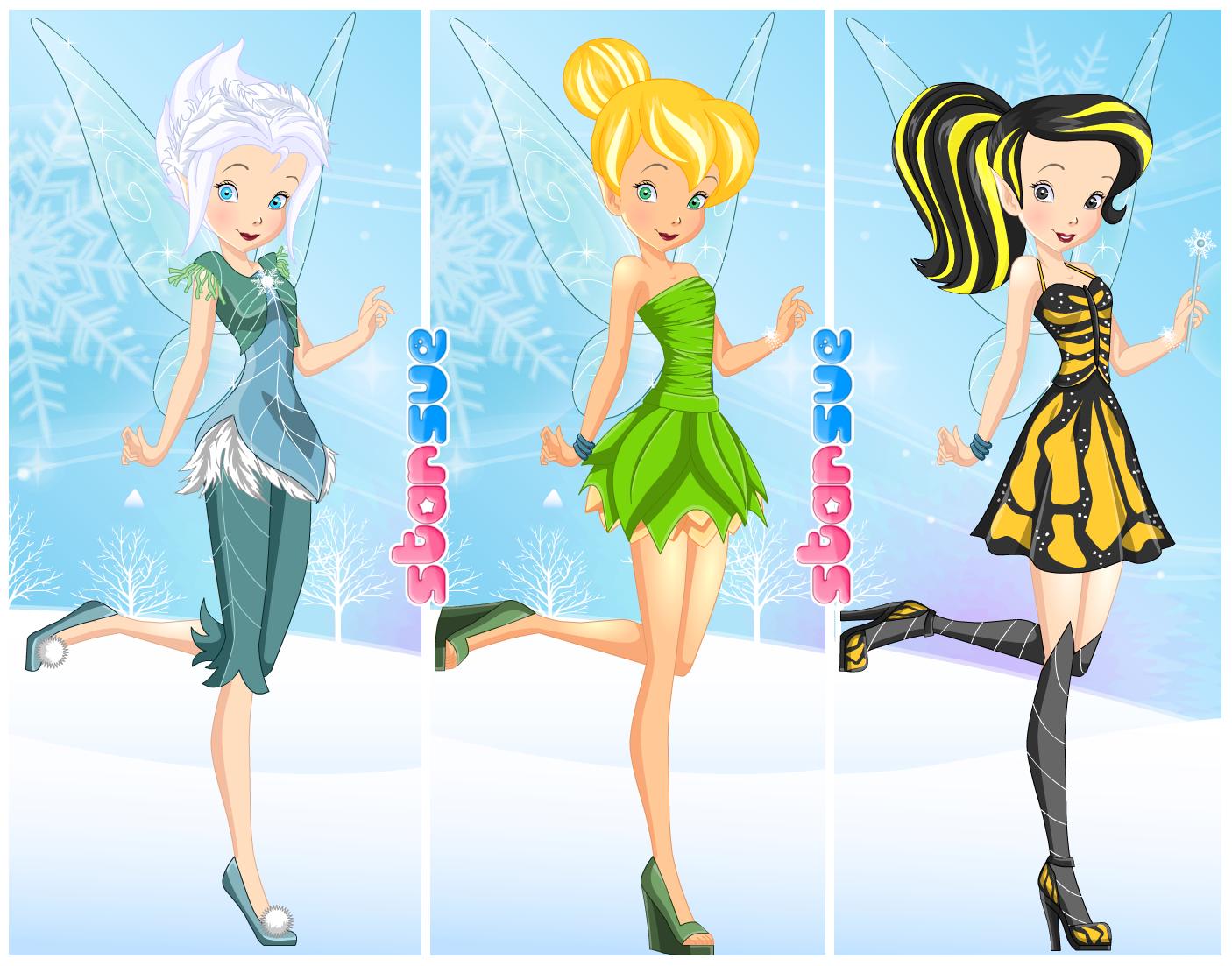 23++ Tinker bell dress up game ideas