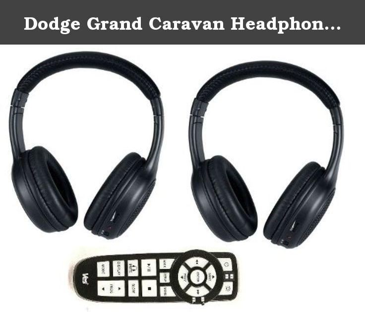 Dodge Grand Caravan Headphones And Dvd Remote 2008 2009 201 Car