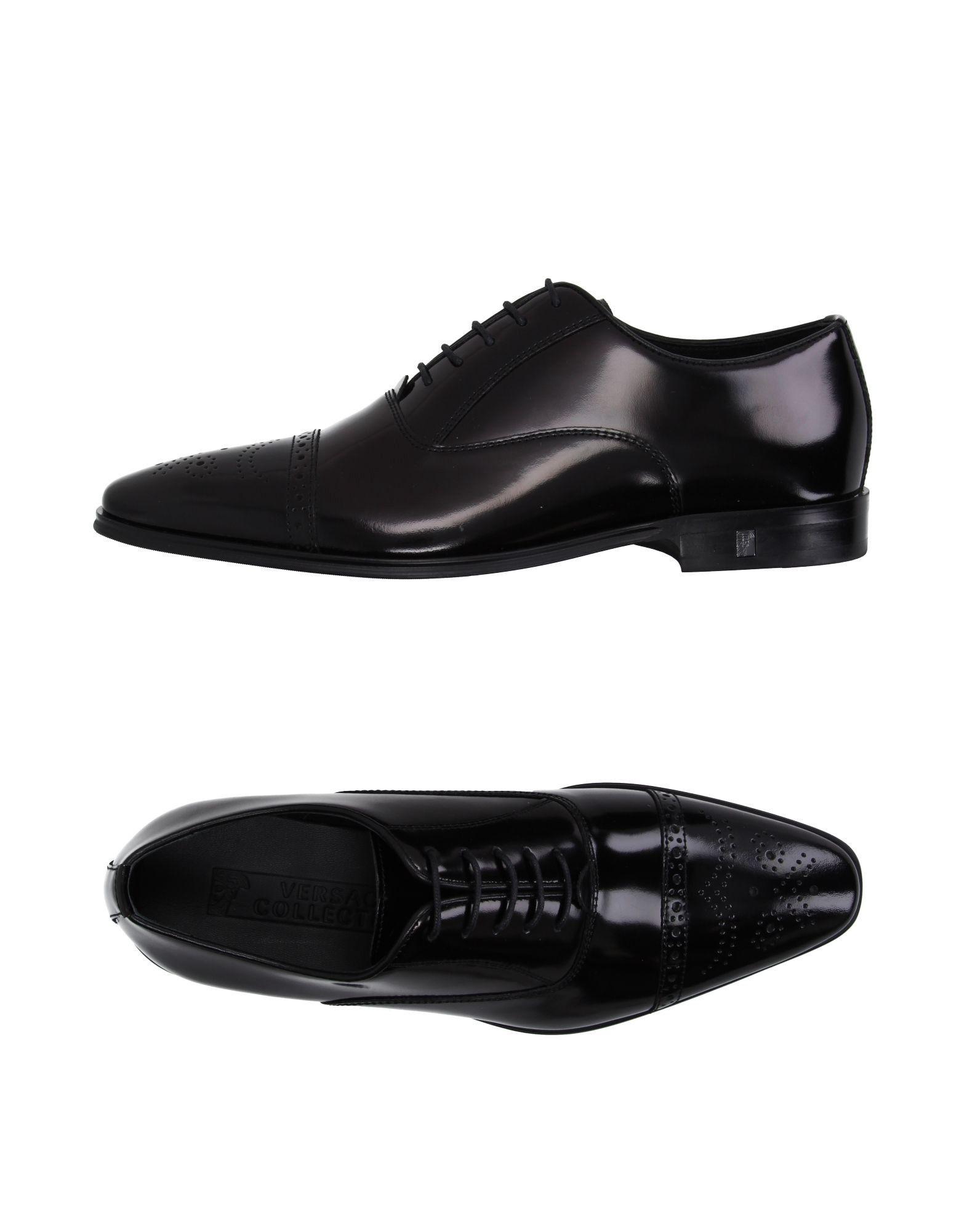 VERSACE Lace-up shoe. #versace #shoes