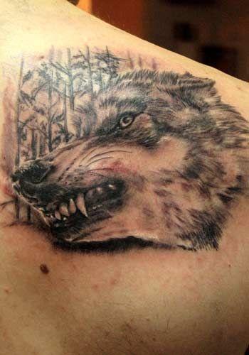 Wow Very Realistic Snarling Wolf Tattoo By Alex De Pase Of Grado Head Tattoos Tattoos Wolf Tattoos