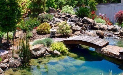 Jardim japon s 60 fotos para criar um espa o incr vel for Piscina para criar peces