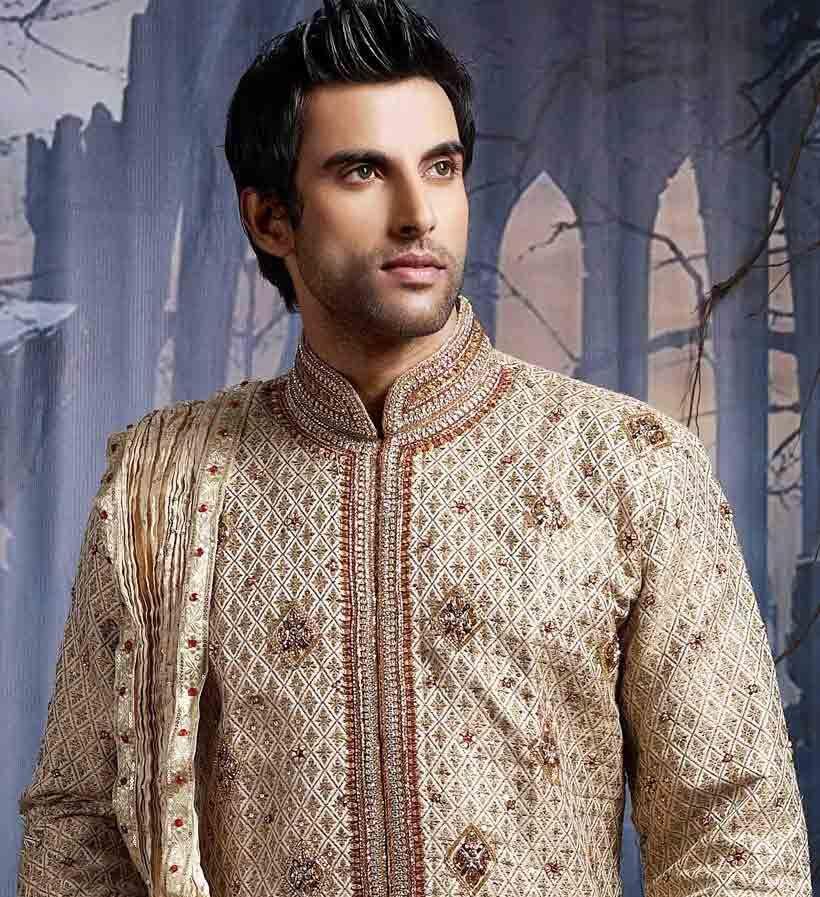 Hairstyles Pakistani Mehndi: Pakistani Groom Hairstyles 2017 For Mehndi Function