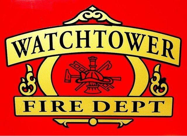 Watchtower Fire Department Wt Pinterest