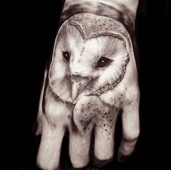 60 Owl Tattoo Design Ideas With Watercolor Dotwork And Linework Examples Barn Owl Tattoo Owl Tattoo Baby Owl Tattoos