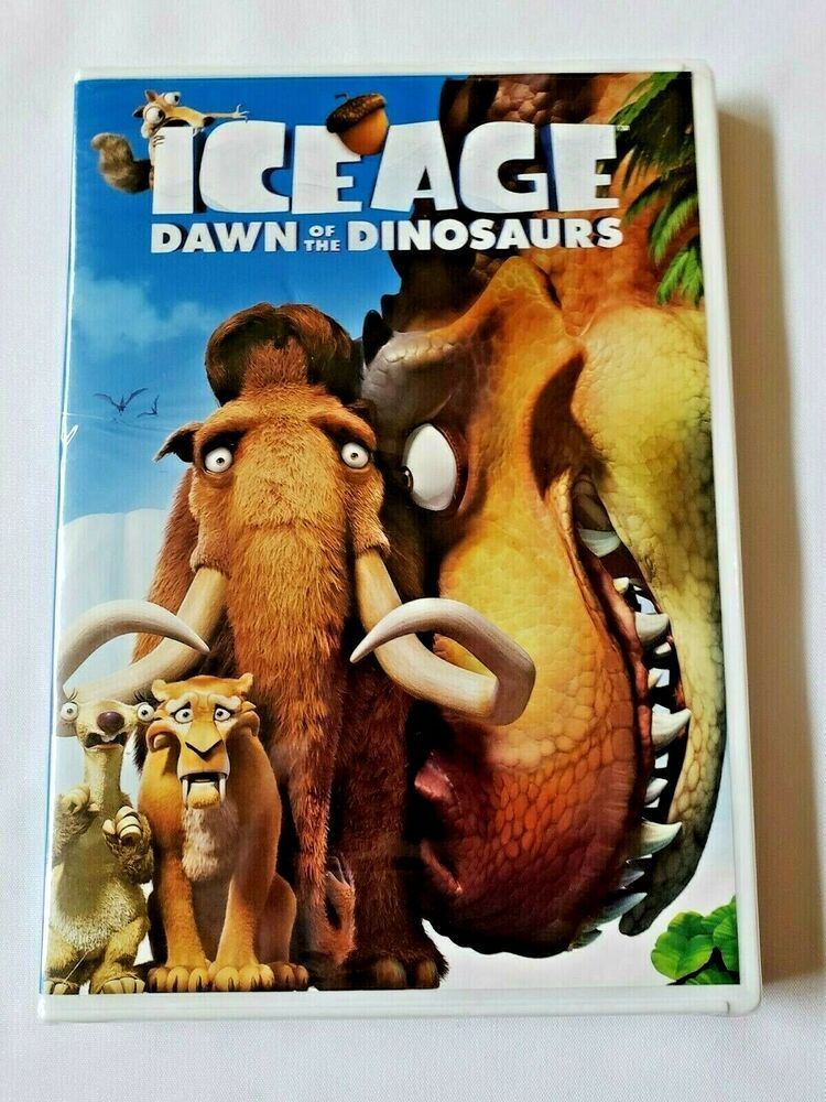 Ice Age Dawn Of The Dinosaurs Dvd 2009 Twentiethcenturyfox Dinosaur Dvd Kid Movies Ice Age