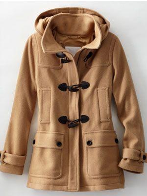 18 Stylish Winter Coats   More Duffle coat ideas