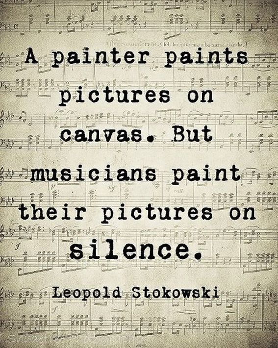 Leopold Stokowski Quote, Musician Gift Idea, Music Lover Gift, Music Quote Art, Unframed #usquotes