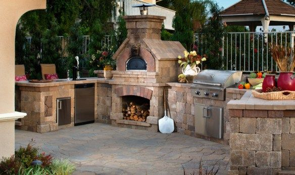 Outdoor Living Trends In New Home Construction Brick Oven Outdoor Outdoor Stone Fireplaces Outdoor Barbeque
