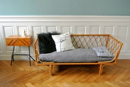 daybed rotin 50 (1) pour mon futur appart Pinterest Daybed