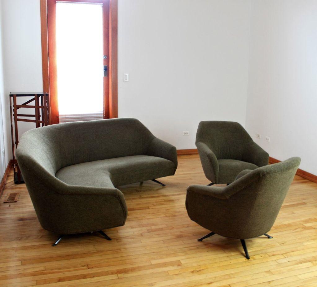 Osvaldo Borsani Sofa For Tecno C1950 COUCHED Pinterest