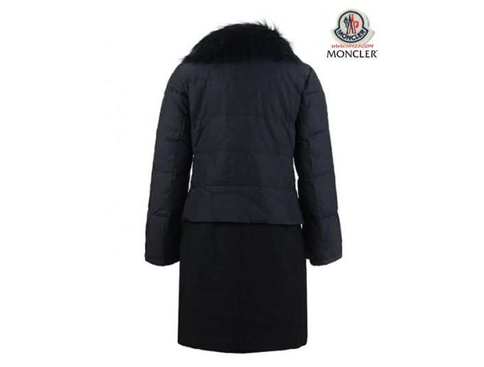 Mantel damen schwarz mit pelz